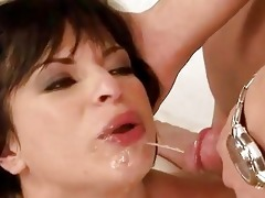 grand-dad fucking and pissing on angel