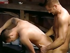 dad gives son a wonderful drilling