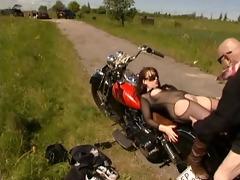 old biker stud fuck marvelous gal