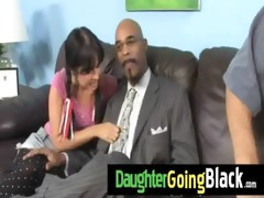 see how my daughter is drilled by a dark guy 116