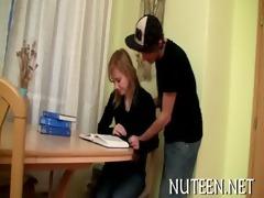 sex appeal legal age teenager sweetheart kneels