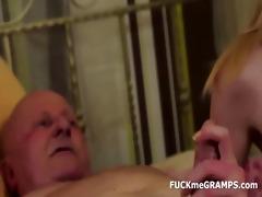 granddad ben enjoys tasting recent love tunnels