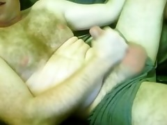curly sexually excited married daddy wanks
