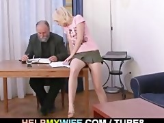 mature spouse pays him to fuck his wife