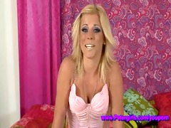 blonde, big boobs, bubble a-hole and willing 1