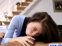 schoolgirl legal age teenager deepthroats old