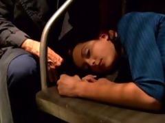 runaway legal age teenager in subway