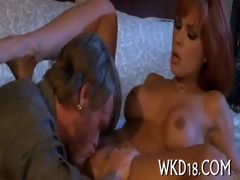 luscious twat is pounded