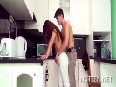 legal age teenager wet crack is nailed well