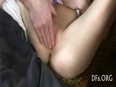 virgin girl masturbates