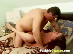 old stud has youthful girlfriend