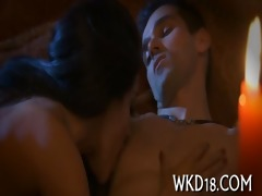 hotty performs oral pleasure
