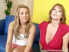 kimberly and her mamma fuck a huge bulky dick