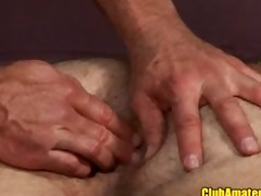 muscle daddy acquires fingered