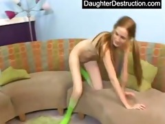youthful beauty pounded hard by large pecker