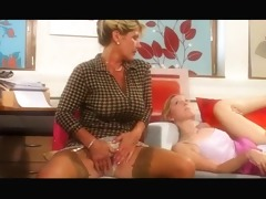 aged mommy and daughter fucking guy