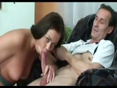daughter receive a good fuck