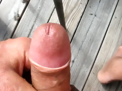 49 year old older man cums