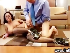 old stud copulates breasty doxy
