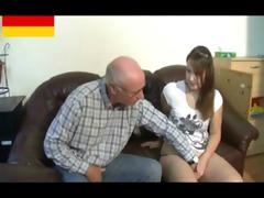 german grandpapa makes juvenile cutie lewd