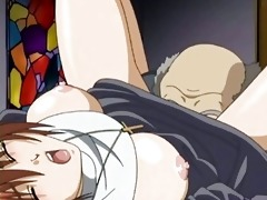 manga sister doing irrumation and receives screwed