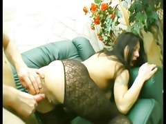 mature hotties entice younger guy