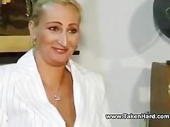 german teacher copulates youthful guy