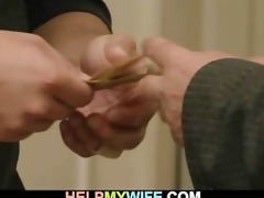 old dude pays him to fuck his youthful wife