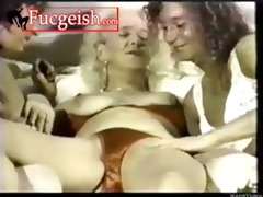 granny has lez sex with younger beauties movie