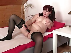 hawt mother in law rides his pecker and receives