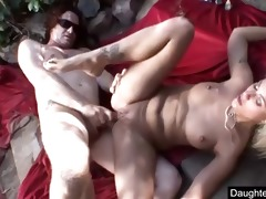 youthful daughter monster anal fucked