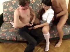 daddy copulates sons girlfriend