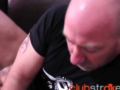tattood blake has one more stroke session on a
