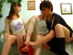 mom acquires drilled by daughter and her bofriend