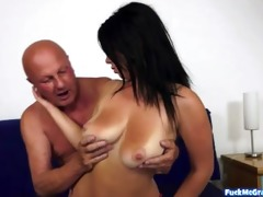 sexy youthful beauty for slutty gramps