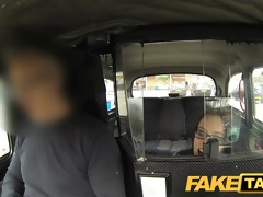 faketaxi the stowaway who sucks rod for free ride