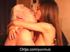 grey grandpapa copulates anal hot juvenile hottie