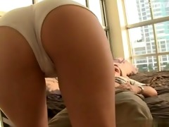 hot daughter arse licking