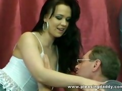 cute czech brunette hair alice style acquires her