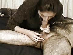 bitch engulfing big chubby pecker