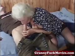 grandma insane for younger schlongs