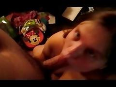 daughter sucks daddy weenie whilst mamma sleep