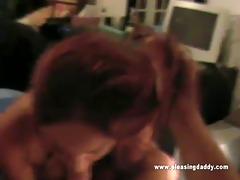 redhead veronica lee mack on jesses weenie