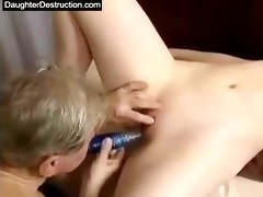 cut oriental daughter screwed good