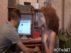 fellow looks at gf drilled