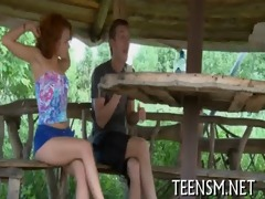 blameless legal age teenager in a sexy scene