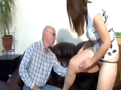 dad wishes youthful virgin arse