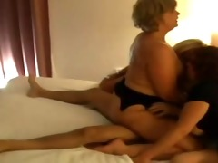 0 older ladies in groups sex with younger chap