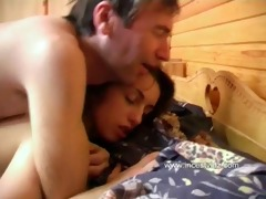old father tempted ravishing daughter and drilled